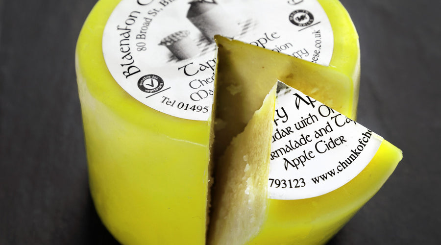 Welsh Winners: Taffy Apple Cheese Gets The Gold