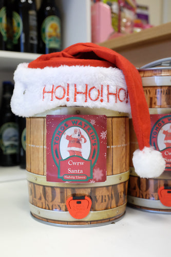 CWRW SANTA MINI KEGS AVAILABLE PRICED £18, HURRY NOW LIMITED STOCK ONLY