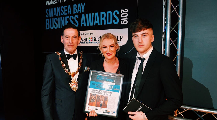 Tomos Watkin Brewery Wins Family Business of the Year 2019
