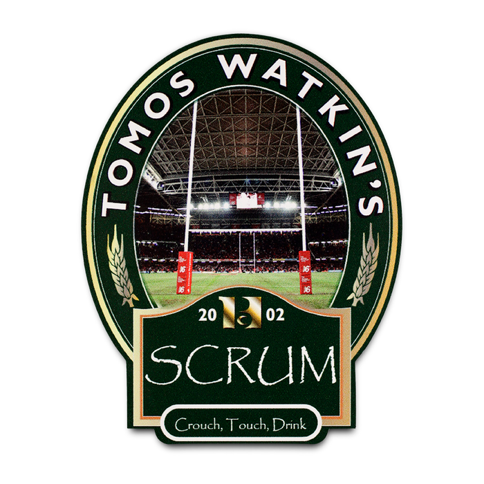 2002 Scrum - Tomos Watkin