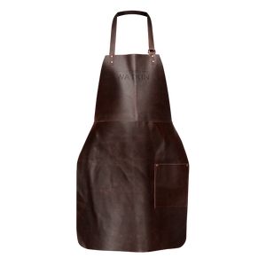 Tomos Watkin Dark Leather Apron - Tomos Watkin