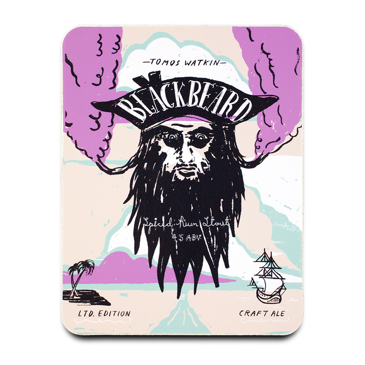 Black Beard - Tomos Watkin