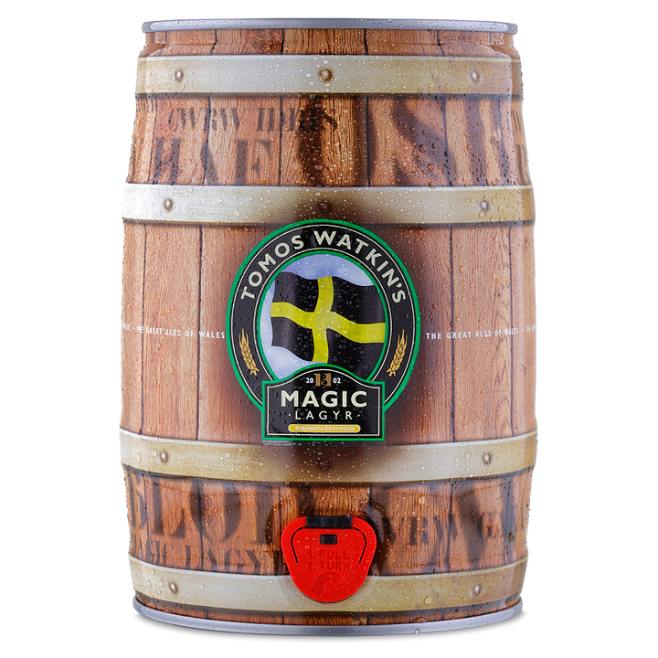 Magic Lagyr - 5 Litre Keg - Tomos Watkin