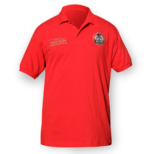 Tomos Watkin Red Polo Shirt - Tomos Watkin