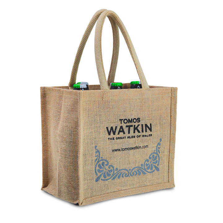 Christmas Bottle Gift Bag - Tomos Watkin