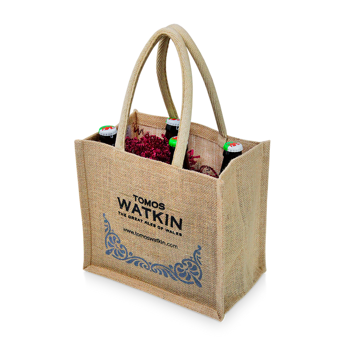 Four Bottle Gift Bag - Tomos Watkin