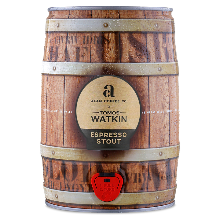 Tomos Watkin X Afan Coffee Co. Espresso Stout - 5 Litre Keg