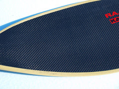 Paddles edged with Kevlar edge tape
