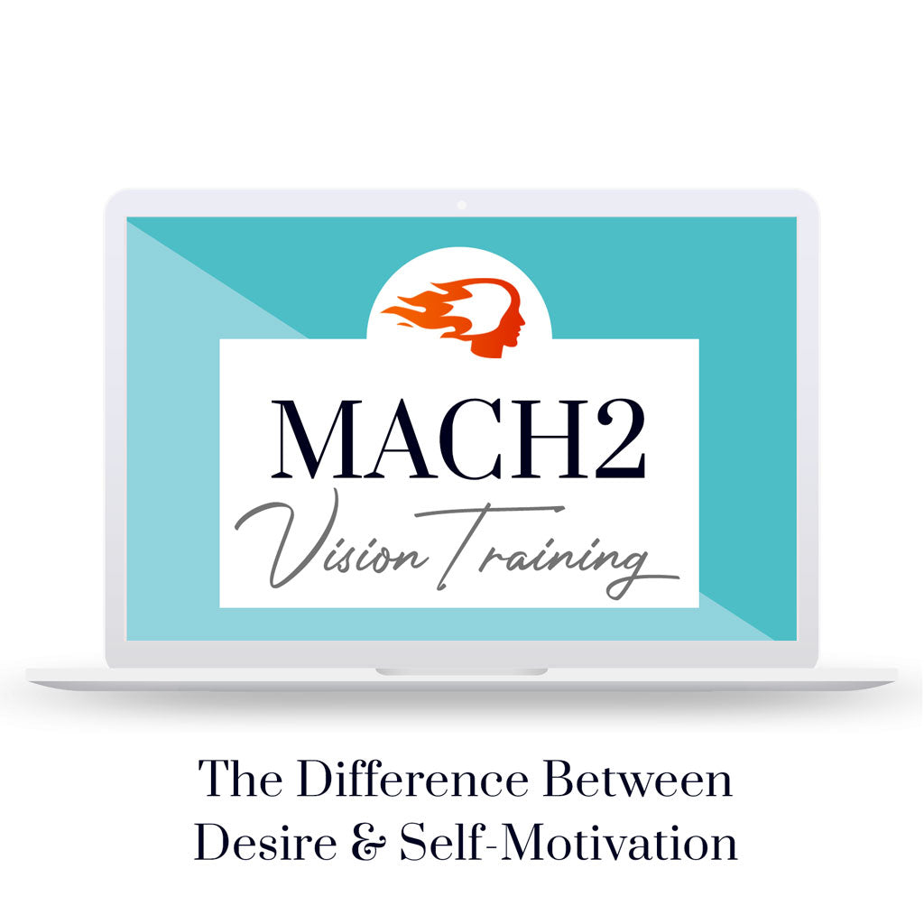 The Difference Between Desire & Self-Motivation