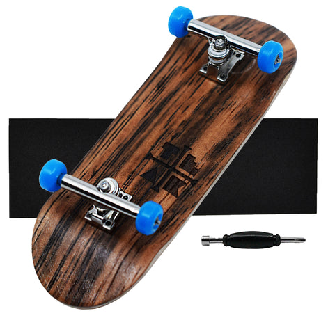 Teak Tuning 34mm Complete Fingerboard Setup in Blue Suede Shoes
