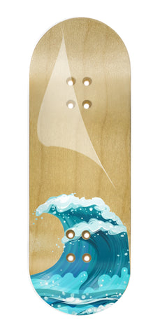 Waves.fb fingerboard collab graphic wrap