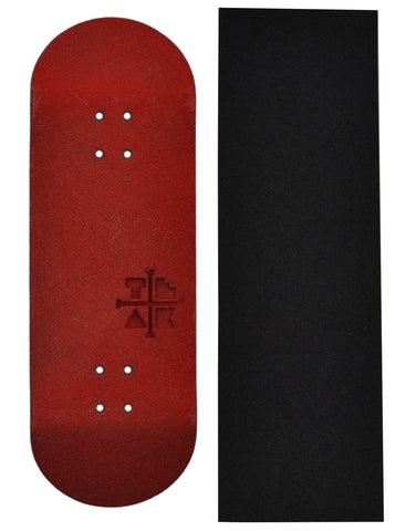 Teak Tuning Limited Edition 33.3mm Red Polymer Composite Deck