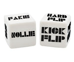 Custom S.K.A.T.E Dice Game for Fingerboarding and Skateboarding
