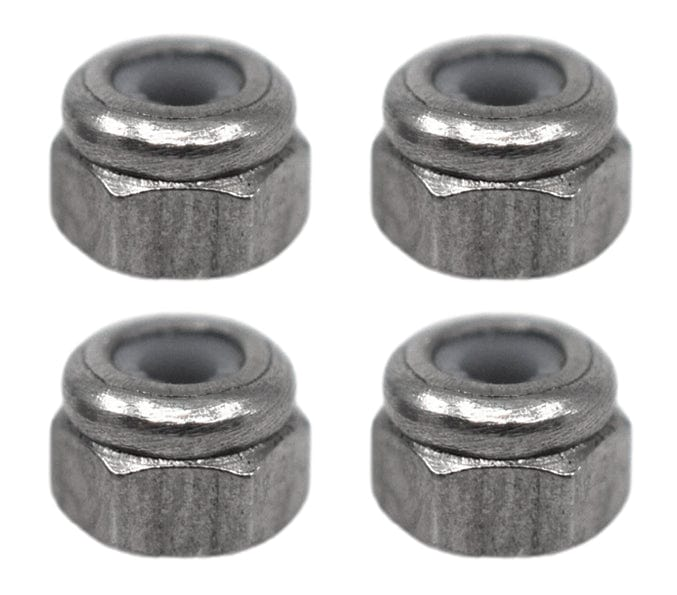 Professional Nylon Insert Lock Nuts (Stainless Steel)