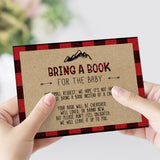 Lumberjack Books for Baby Cards