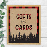 Lumberjack Gifts and Cards Sign