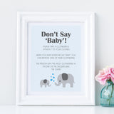 Boy Little Peanut Don't Say Baby Sign