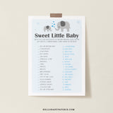 Boy Little Peanut Sweet Little Baby Game Template