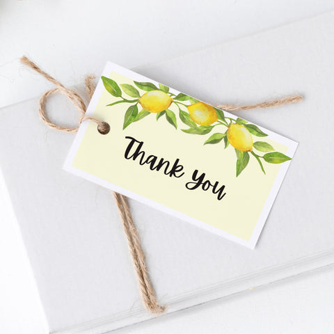 Lovely Lemon Thank You Cards