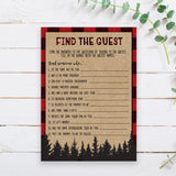 Lumberjack Find the Guest Game Template