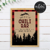 Lumberjack Chili Bar Sign