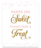 Pink Polka Babies are Sweet Sign