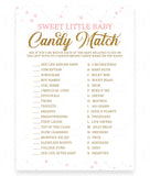 Pink Polka Sweet Little Baby Game Template