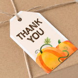 Pumpkin Thank You Tag