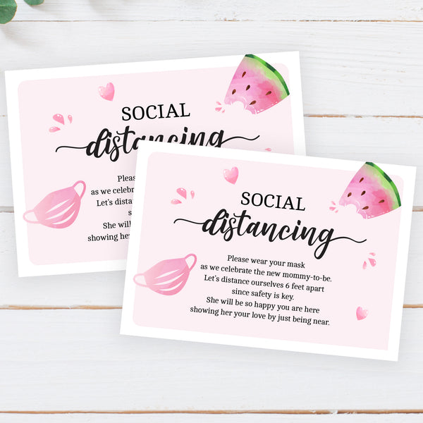 Watermelon Social Distancing Insert