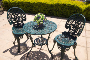 Two-Seater Royal Set with 62cm Round Ivy Table