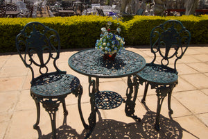 Two-seater Mystic Rose Set with 62cm Round Table