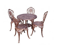 Load image into Gallery viewer, Four-Seater Mystic Rose Set with 80cm Round Mystic Rose Table