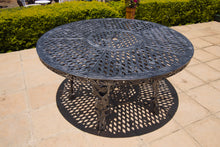Load image into Gallery viewer, Six-Seater CapeGrape Set with 155cm Round CapeGrape Table