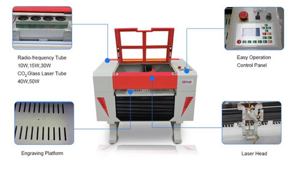 laser cutting machine, laser engraving machine, tripro laser engraver, tripro laser cutter