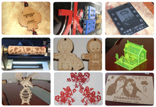 Load image into Gallery viewer, laser cutting wood, laser engraving acrylic