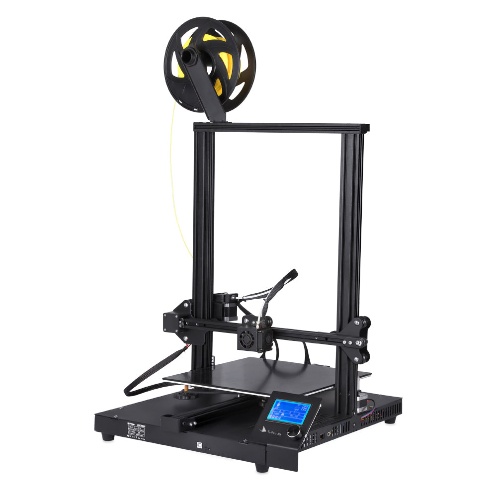 TriPro TP-10 FDM 3D Printer With 12x12x15 Inch Printing Size
