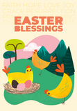 World Gifts Easter card