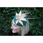 Load image into Gallery viewer, Green and Gold headpiece