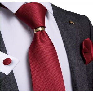 Red tie set