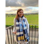 Load image into Gallery viewer, Maidie Scarf 'blue'