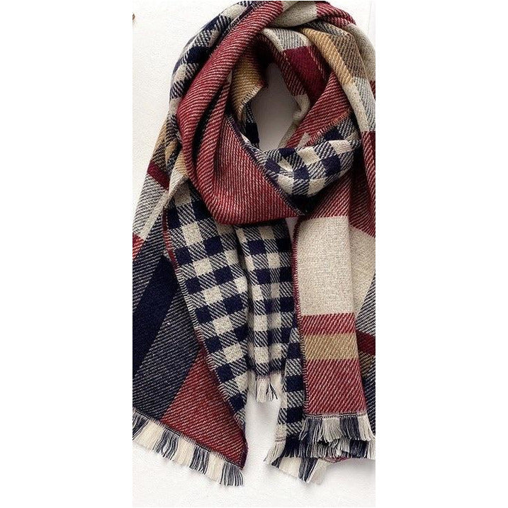 Camilla scarf 'red'