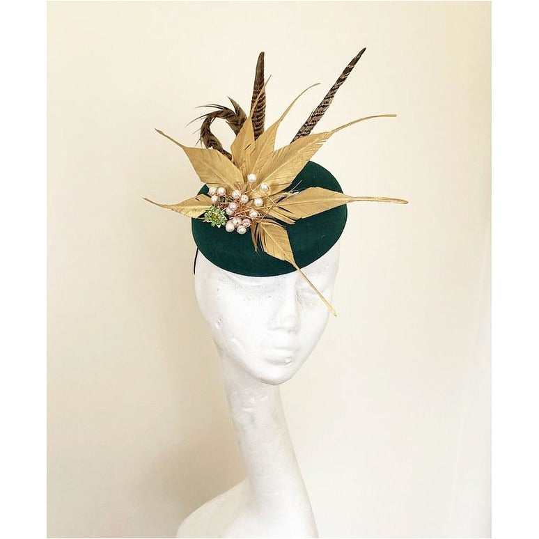 Green and Gold headpiece