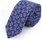 Load image into Gallery viewer, Navy pattern Tie & Handkerchief