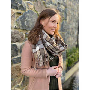 Kina Scarf 'Brown'