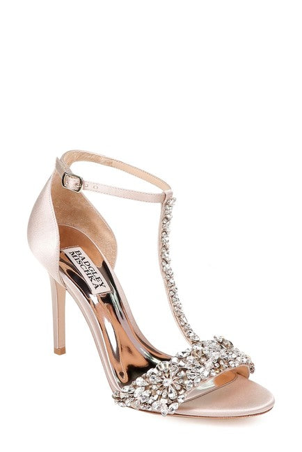 Badgley Mischka Crystal Embellished Sandal - Bhe Accessories