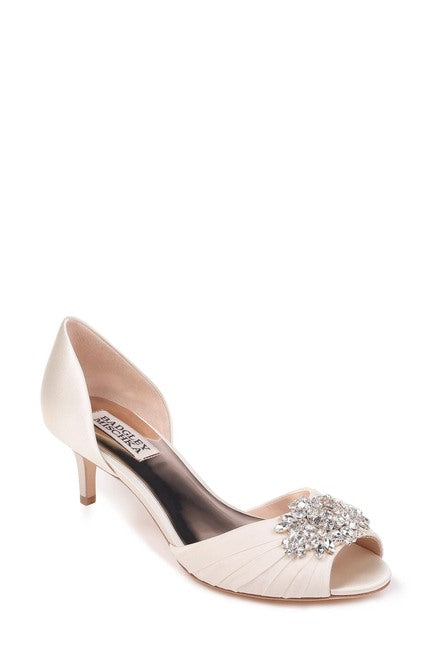 Badgley Mischka Sabine Peep Toe Pump - Bhe Accessories