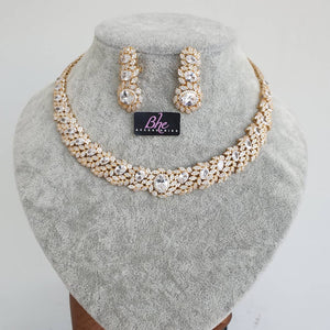 Bhe Accesssories Two Tone 4 Pieces Jewellery set