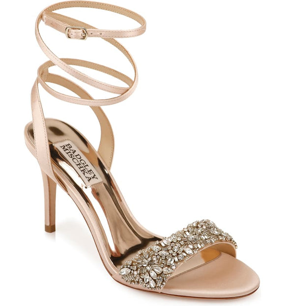 Badgley Mischka Jen Ankle Strap Sandal - Bhe Accessories