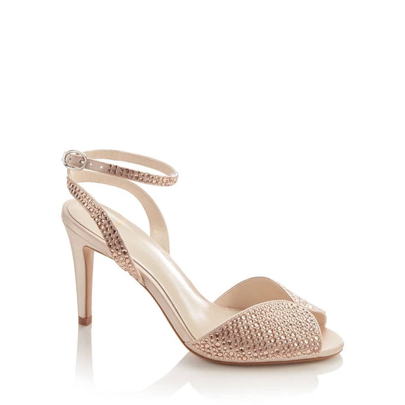 Jenny Packham Champagne Embellished Sandal - Bhe Accessories