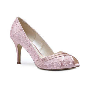 Pink By Paradox Cherie Blush PeepToe Shoes - Bhe Accessories